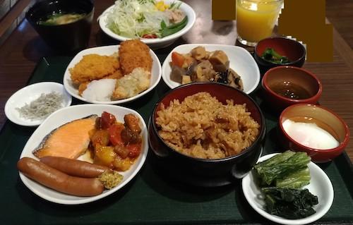 ドーミーイン広島朝食